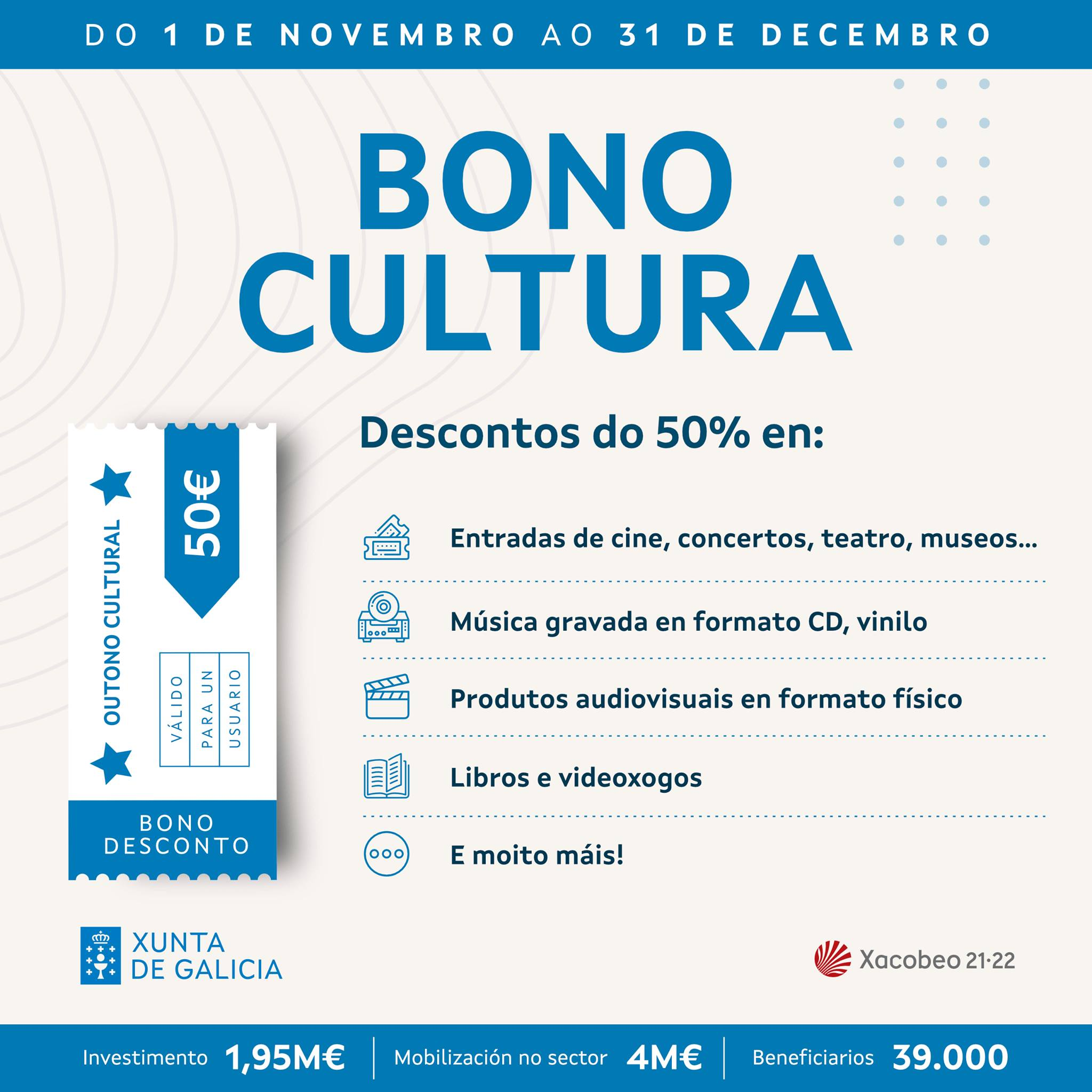 Bono Cultura Xunta